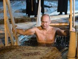 Добавит ли Путину явки на выборах его крещенское купание?