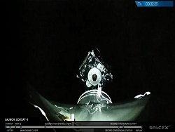 SpaceX запустила ракету Falcon 9 со спутником связи GovSat-1