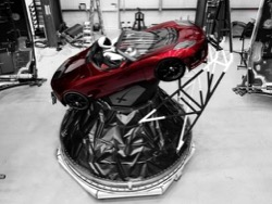 SpaceX выпустила визуализацию предстоящего запуска Falcon Heavy