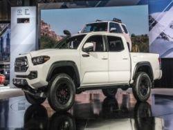 Toyota в Чикаго покажет три новых внедорожника серии TRD Pro
