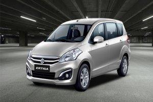 Новый компактвэн Suzuki Ertiga показали раньше времени