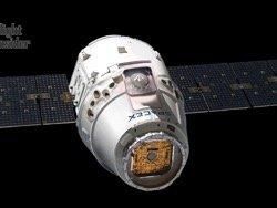 SpaceX успешно подвела к МКС корабль Dragon с 2647 кг груза