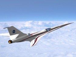 NASA заплатит производителю сверхзвукового самолета четверть миллиарда долларов