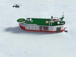 В России построят гигантскую платформу для изучения Арктики
