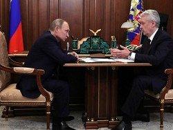 """Путин напомнил Собянину о """"хронических проблемах"""" Москвы"""