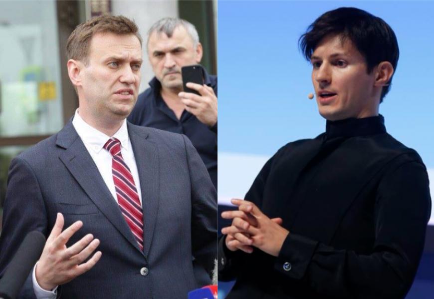 Навальный VS Дуров: чей «хайп» сильнее? 671221dfb2724ec9819db3d872f8a248