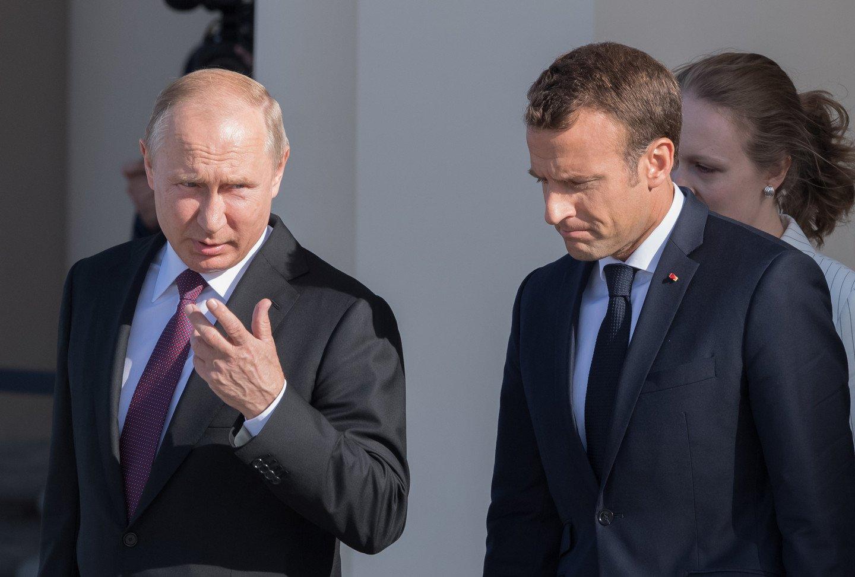 Встреча Путина с Макроном и другими лидерами всполошила Запад: Россия укрепляет позиции