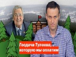 Навальному грозит уголовное дело за клевету на Тулеева