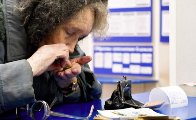 Россия нищает, а власти рапортуют, что бедных стало меньше