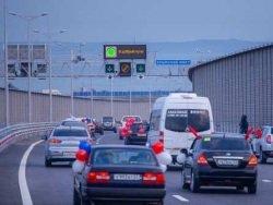 Есть рекорд: за сутки по Крымскому мосту проехали более 20 тыс. авто