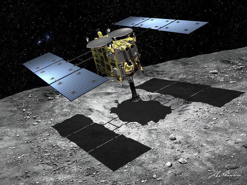 Новые фотографии астероида Рюгу
