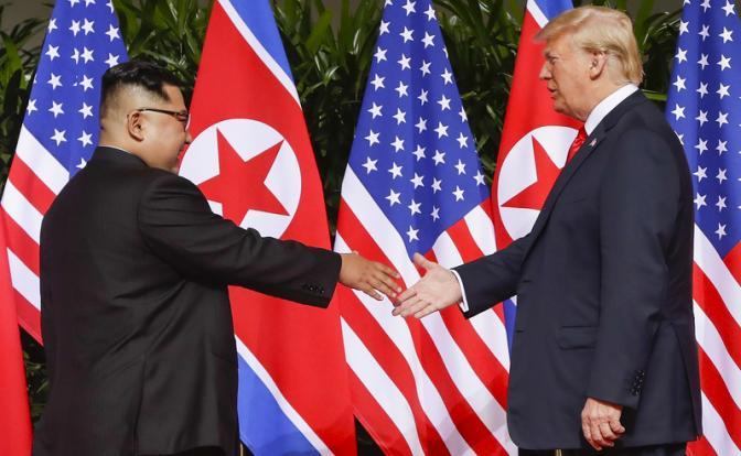 Китайский гамбит в Корее: Трамп готовит удавку для Пекина