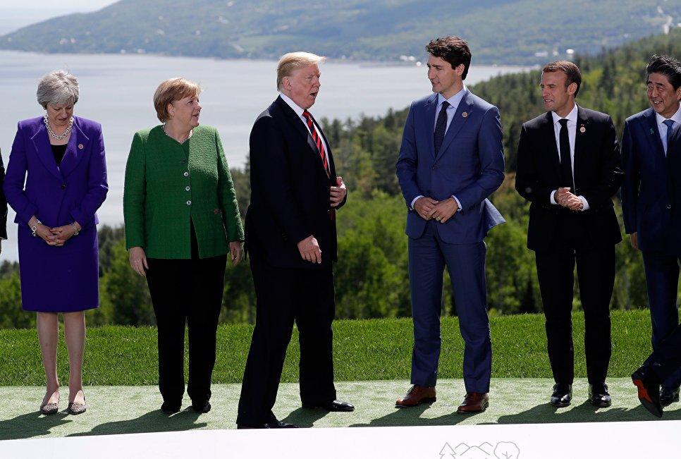 Buzzfeed узнал, почему Трамп назвал Крым российским на саммите G7