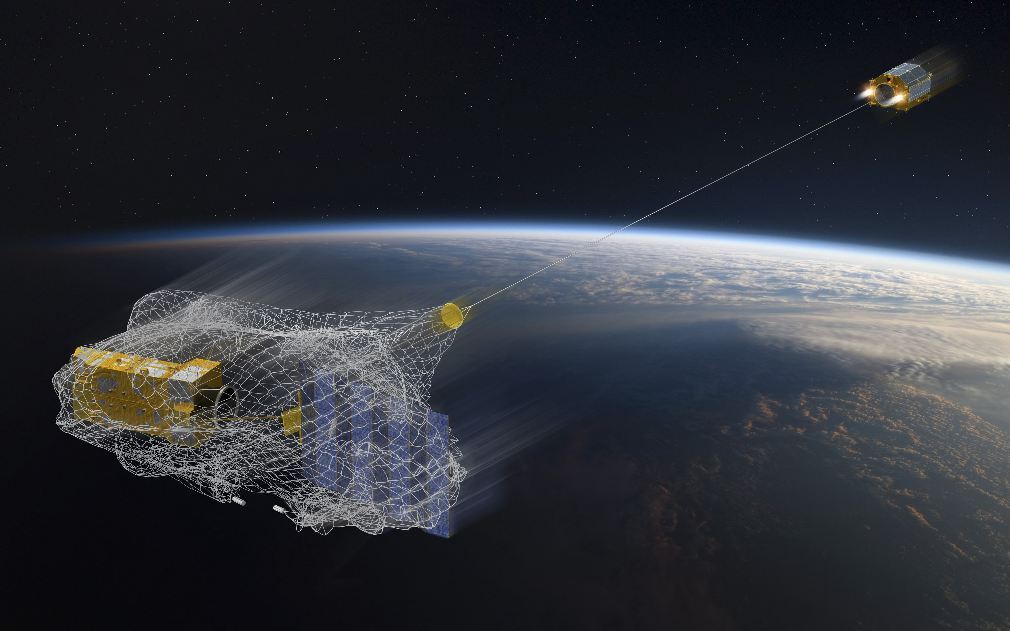 С МКС запустили спутник, охотящийся за космическим мусором