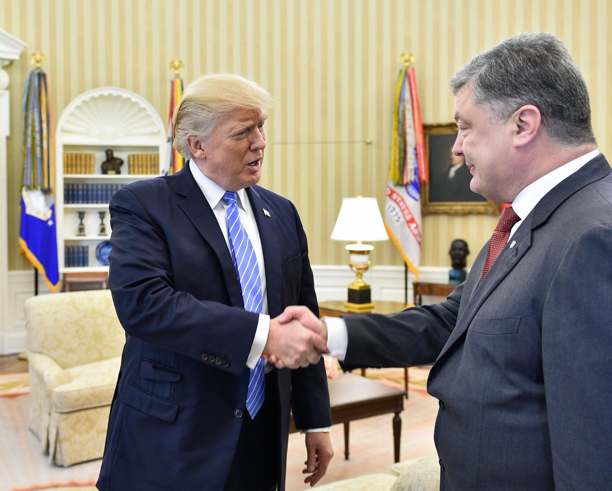 Украина внесла Дональда Трампа в черный список