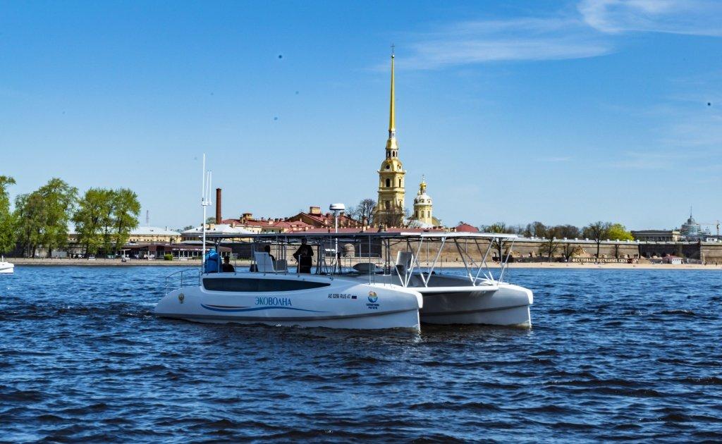 Первый электрокатамаран на базе решений РОСНАНО представили в Москве