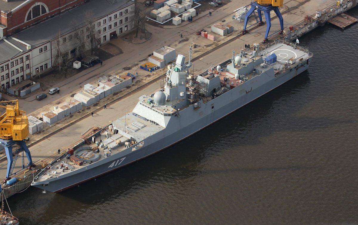 """""""Business Insider"""": фрегат РФ """"Адмирал Касатонов"""" превосходит американские аналоги"""