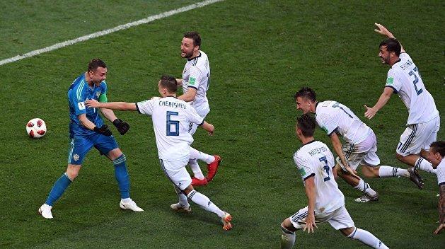 Как на Украине встретили победу сборной России в матче с испанцами