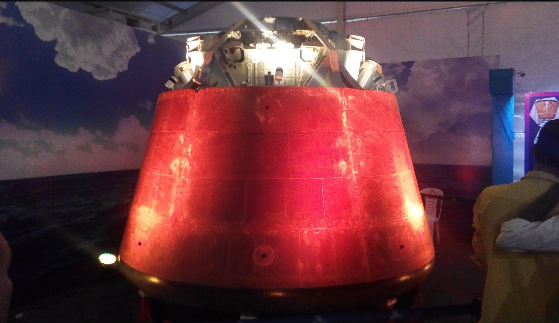 Индия провела испытания системы аварийного спасения перспективного пилотируемого корабля