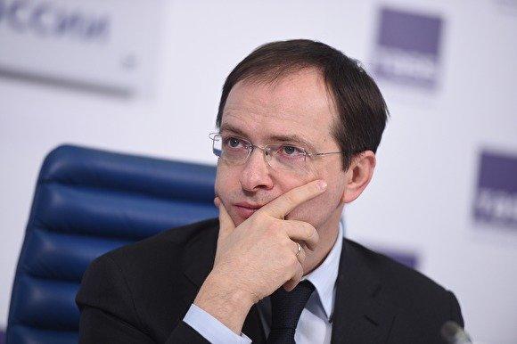 Мединский попросил у Медведева отпуск, чтобы помолиться за российских футболистов