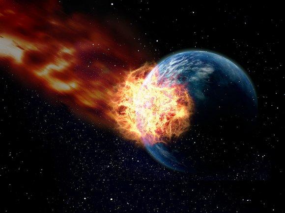 Американские ученые вперые достали метеорит со дна океана