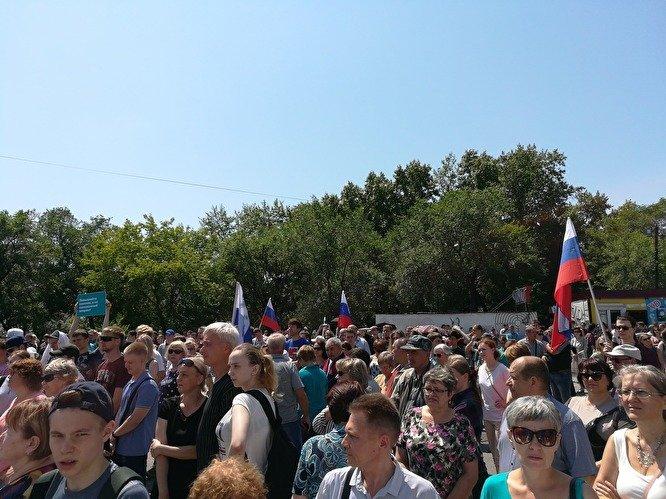 Митинги против пенсионной реформы идут по нарастающей