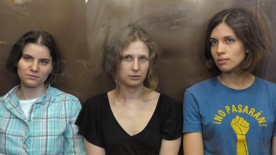 ЕСПЧ обязал Россию заплатить Pussy Riot около €50 тысяч