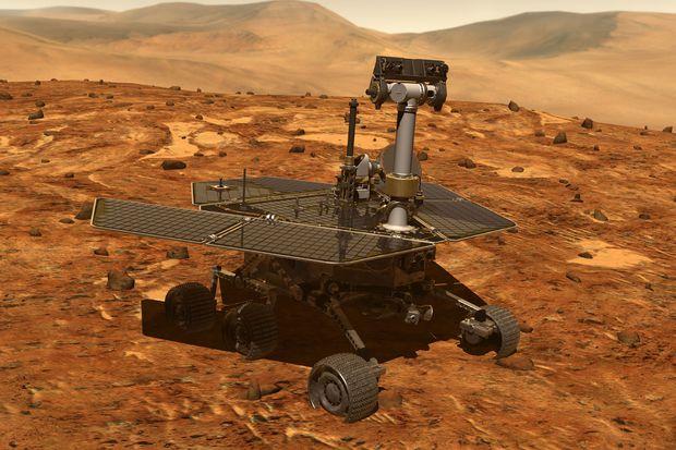 Марсоход Opportunity до сих пор молчит из-за пылевой бури на Марсе