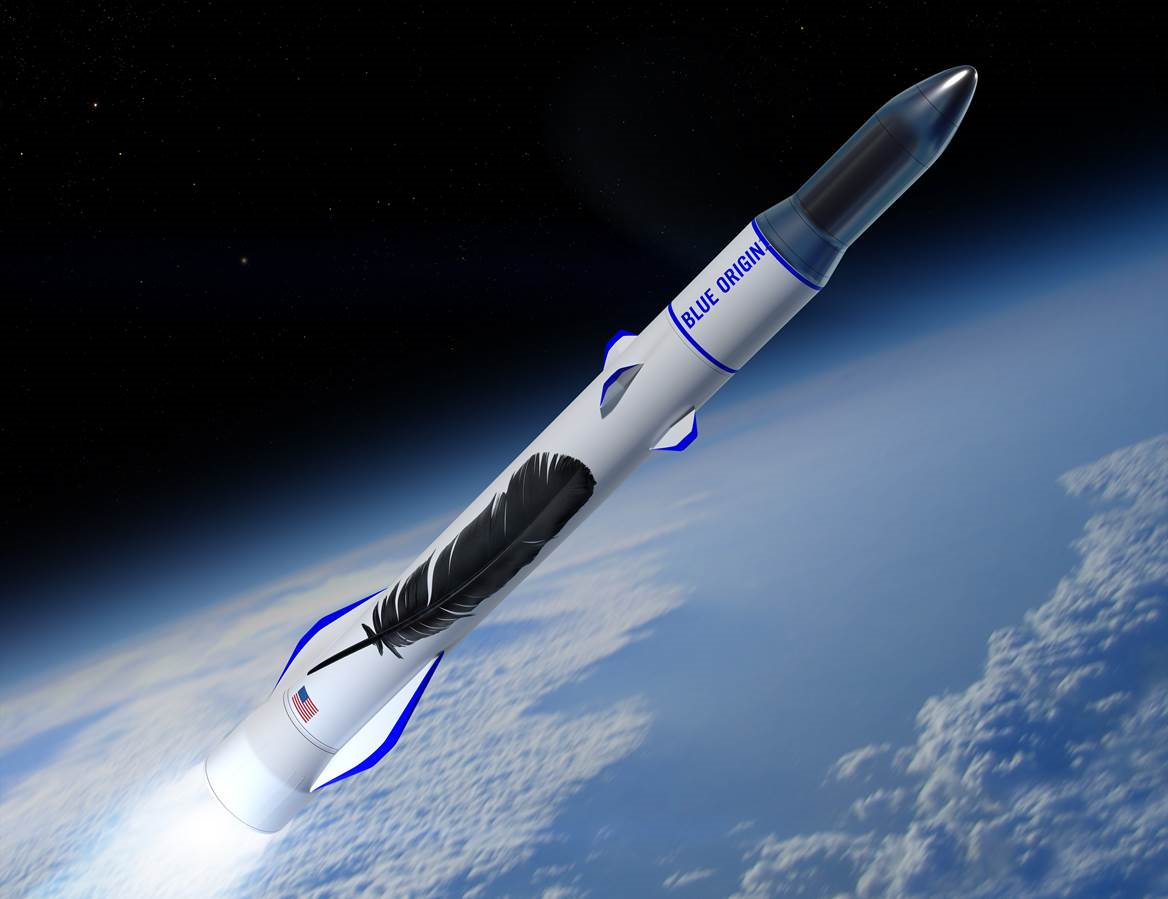 Основатель Amazon.com бросает деньги на разработку ракеты в связи с ускорением космической гонки
