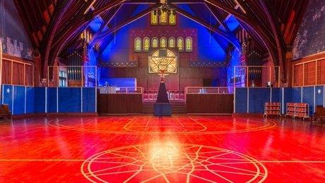 В Чикаго церковь переделали в баскетбольный зал : Мозаика Newsland – комментарии, дискуссии и обсуждения новости.