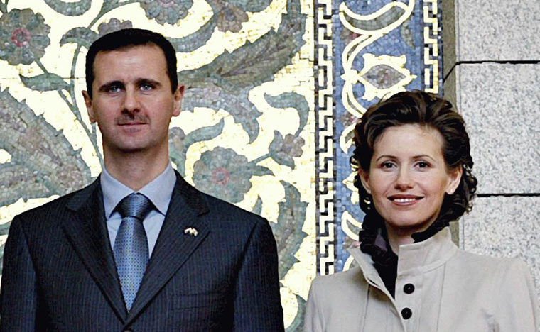 У жены президента Сирии нашли рак