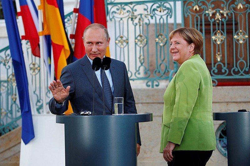 Путин и Меркель поговорили о газе, трубе и Трампе : Политика Newsland – комментарии, дискуссии и обсуждения новости.
