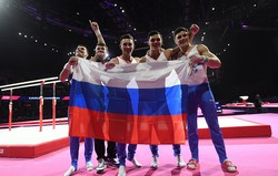Сборная России выиграла первый в истории чемпионат Европы по летним видам спорта