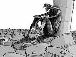 Поэма абсурда: нефть дорожает, рубль падает, экономика стагнирует