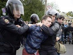 Сотни человек задержаны в ходе акций протеста против пенсионной реформы в РФ