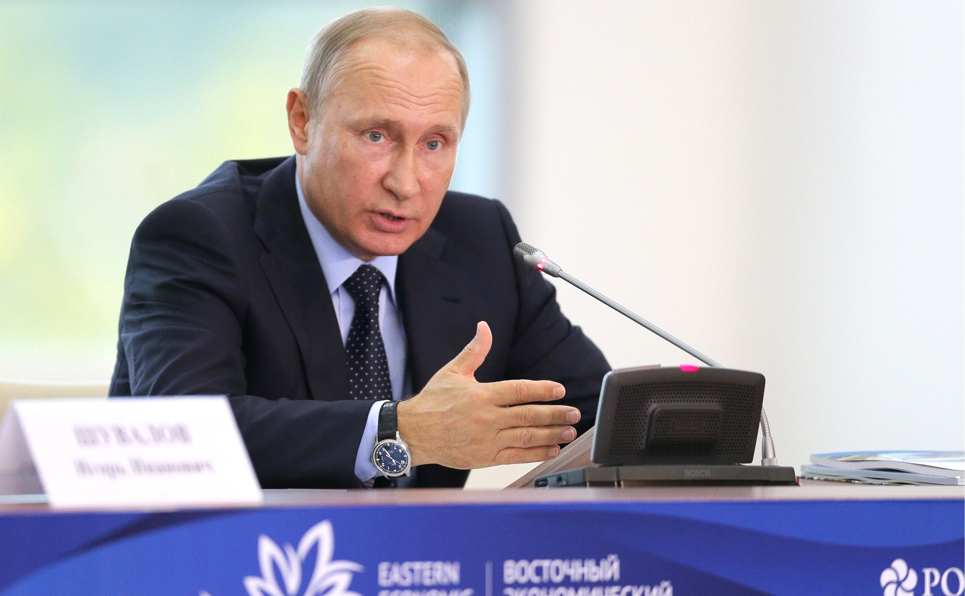 На ВЭФ-2018 Владимира Путина ждет насыщенная программа
