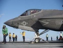 """Новейший F-35С потерпел дорогостоящую """"аварию класса А"""""""