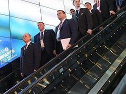 СМИ: Путина в Сингапуре попросили пройти через рамку металлоискателя