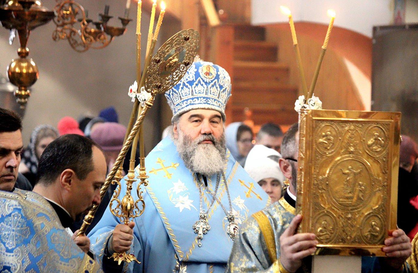 Митрополита Агапита доставили в Киев под охраной СБУ