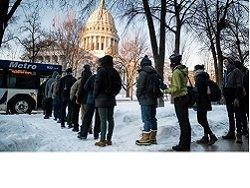 ВВС: США замерзают. Глобальное потепление дало сбой?