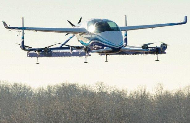 Boeing провела первые испытания автономного самолёта для службы аэротакси