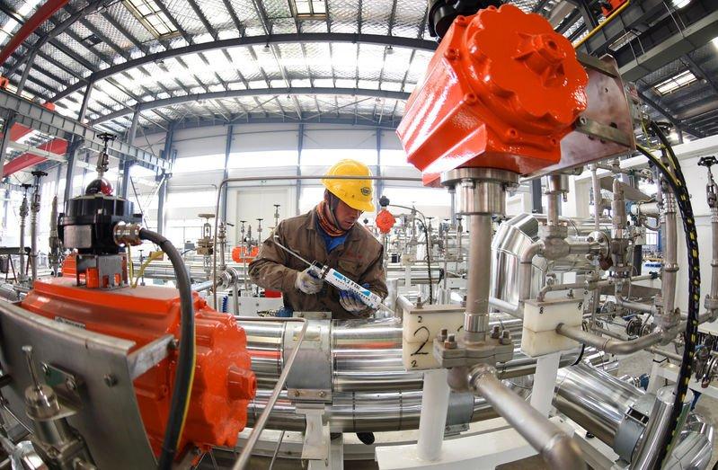 В январе снизилась активность на заводах Китая