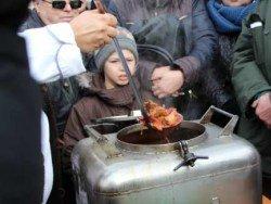 Украина: зрители съёмок в Полтаве устроили потасовку из-за бесплатной еды