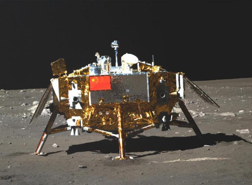Лунный орбитальный зонд NASA сделал первые снимки Китайской станции «Чанъэ-4»