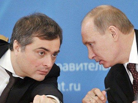 Сурковская правда: такого поцелуя в диафрагму Путин не имел давно