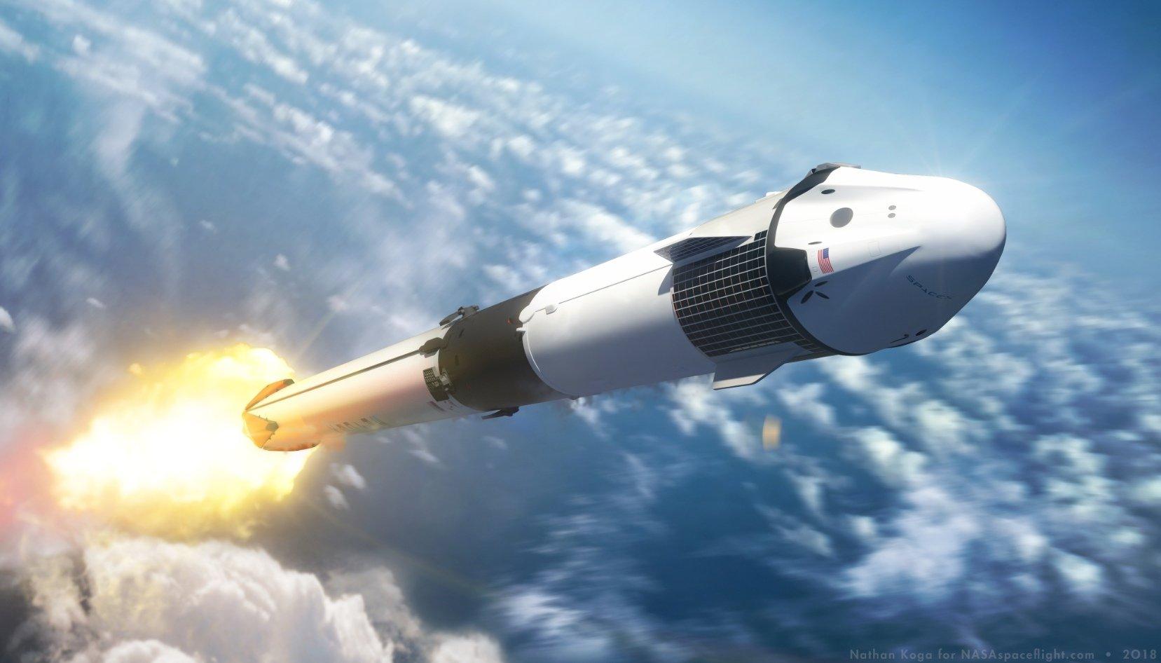 NASA выдало разрешение на запуск 2 марта корабля Dragon 2