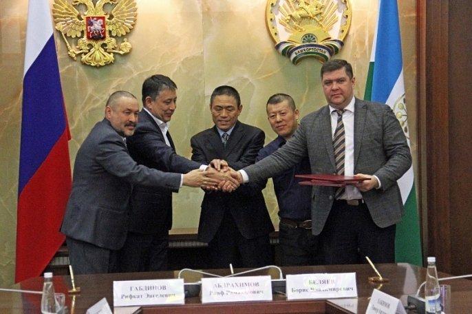 В Башкирии с участием китайского инвестора построят завод фиброцементных плит