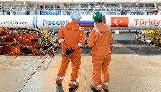 """Морскую и наземную части """"Турецкого потока"""" соединили в Турции"""