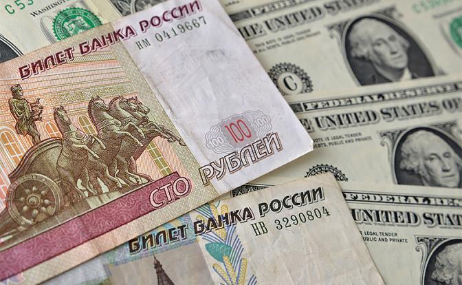80 рублей за доллар становятся реальностью