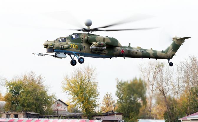 Новая ракета «Ночного хищника» лучше вертолет не сделала